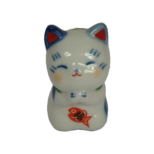 日本製 日本原裝 藥師窯系列招財貓-祈願福貓 7782