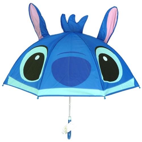 MN日本原裝 迪士尼系列耳朵款 兒童傘/雨傘-史迪奇Stitch