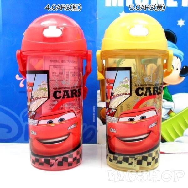 Disney 迪士尼 兒童防漏水壺/吸管水壺500ML(米奇/米妮/公主/史迪奇/cars/米菲兔)單售
