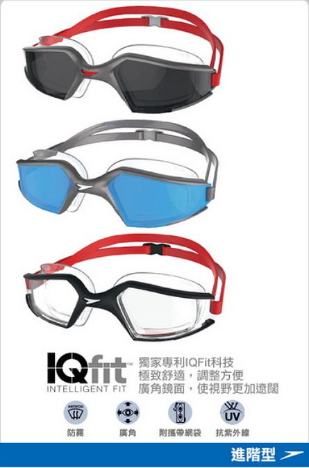 [陽光樂活] SPEEDO 成人進階泳鏡Aquapulse Max 2 銀-藍/黑-透明/銀-灰