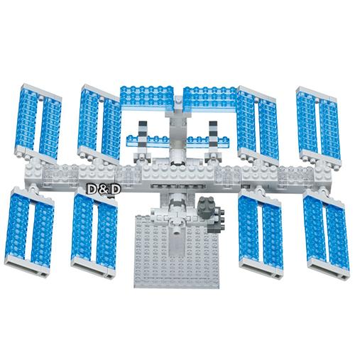 《 Nano Block 迷你積木 》NBH - 129 太空站
