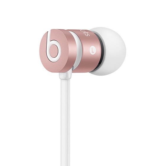《育誠科技》『 Beats urBeats 玫瑰金色』耳塞式耳機/耳道式/Dolby音效/內置麥克風/堅固金屬外殼