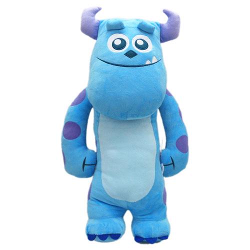 【真愛日本】13071900001  2號全身長抱枕70cm毛怪 怪獸電力公司 怪獸大學 懶骨頭 靠枕