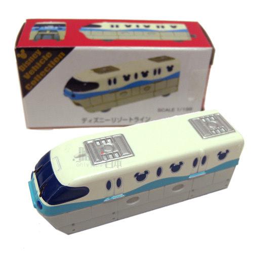 【真愛日本】 14032300013限定樂園小車-遊園電車 迪士尼樂園 TOMY多美小汽車