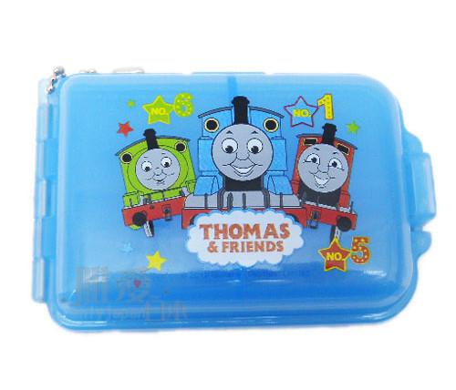 ~*唯愛日本*~A1031100064 THOMAS &湯瑪士 小火車 7格藥盒-與朋友收納盒 置物盒 台灣製