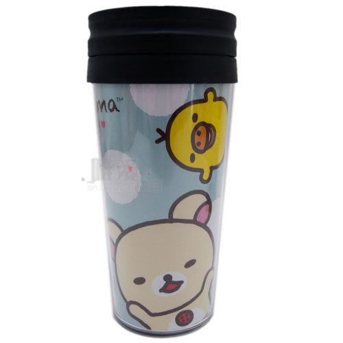 【唯愛日本】12112400022 隨手杯-懶熊4人物 SAN-X 懶熊 懶妹 奶妹 奶熊 咖啡杯 馬克杯