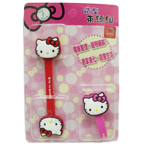 【真愛日本】13122800001 捲線器-KT大頭 三麗鷗 Hello Kitty 凱蒂貓 耳機集線器 收線器 正品