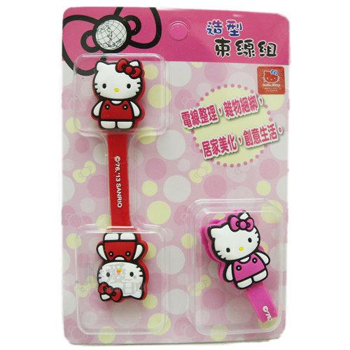 【唯愛日本】13122800002 捲線器-KT全身 三麗鷗 Hello Kitty 凱蒂貓 耳機集線器 收線器 正品