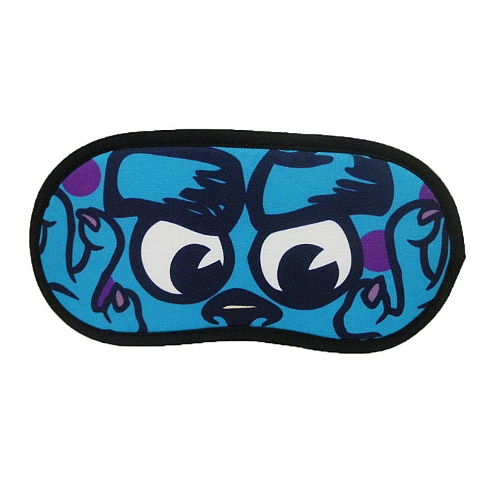 【真愛日本】14091800028 眼罩-毛怪 迪士尼 怪獸電力公司 怪獸大學