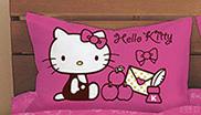 【唯愛日本】14100100016 童枕-我的遊戲房粉 三麗鷗 Hello Kitty 凱蒂貓 枕頭 寢具