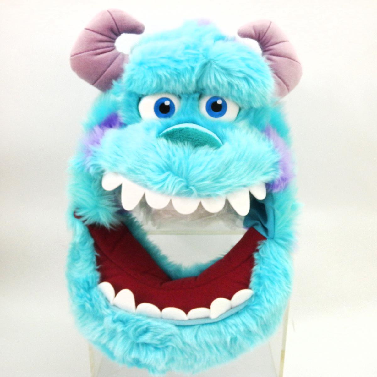 【唯愛日本】14101400017 娃娃造型帽-大頭長毛毛怪 迪士尼 怪獸電力公司 怪獸大學 扮裝 萬聖節