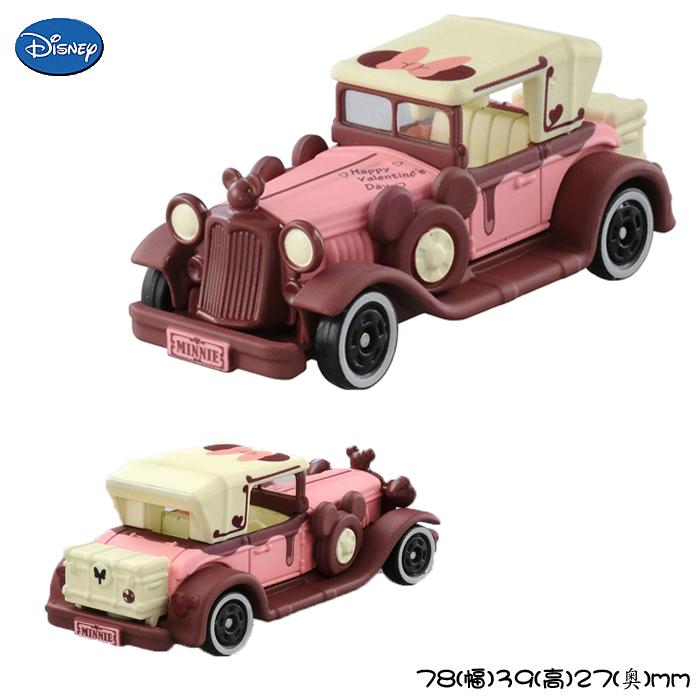 【唯愛日本】15010600001 TOMY-夢幻情人節限定版 迪士尼 米老鼠米奇 米妮  小車 玩具車 限量 正品