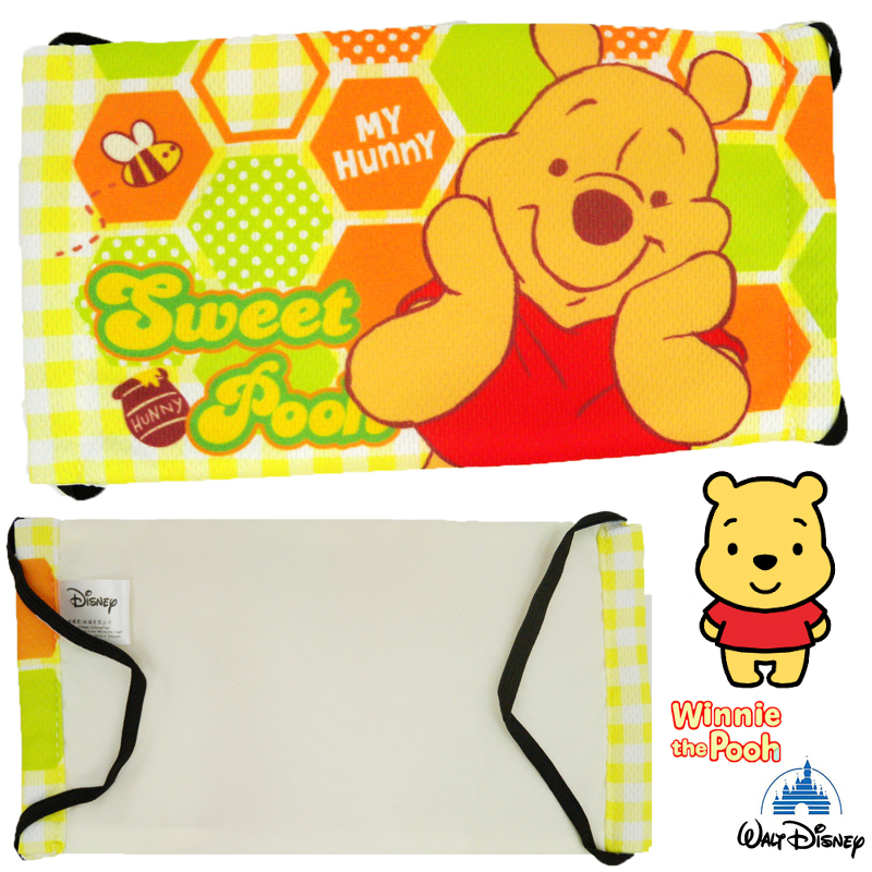 【唯愛日本】15011700001 舒適布質口罩-維尼 迪士尼 小熊維尼 POOH 維尼熊 正品