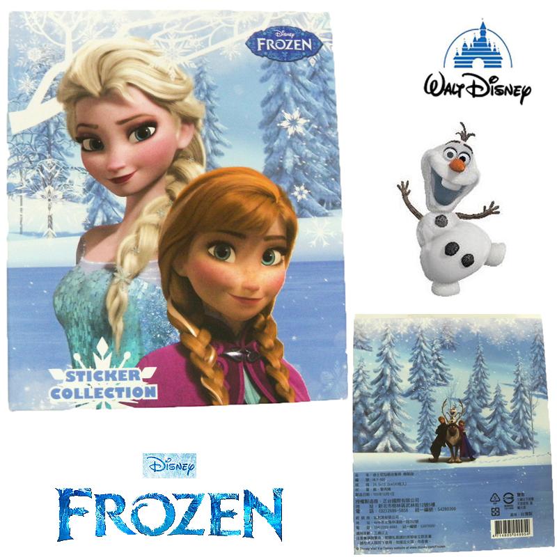 【唯愛日本】15011700022 精裝收集冊-冰雪奇緣 迪士尼 冰雪奇緣 Frozen 卡片本 收藏本 正品