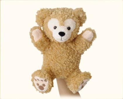 【真愛日本】15020500032經典絨毛手偶娃-達菲 迪士尼專賣店限定 雪莉玫 達菲熊 娃娃 玩偶 正品 限量 預購