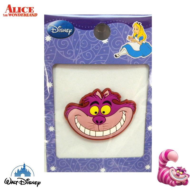 【唯愛日本】15021400039 造型磁鐵-妙妙貓 迪士尼 愛麗絲夢遊仙境 文具 正品 限量