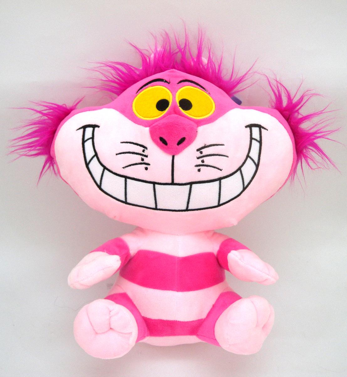 【真愛日本】15022600076 6吋吊坐娃-妙妙貓 迪士尼 愛麗絲夢遊仙境 娃娃 玩偶 正品