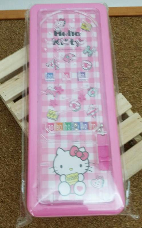 【真愛日本】15031400032 彈珠檯鐵筆盒-粉 三麗鷗 Hello Kitty 凱蒂貓 文具 收納盒 正品