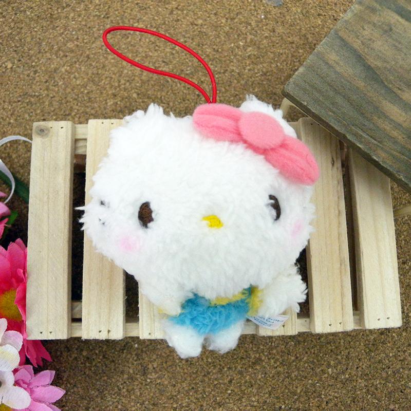 【真愛日本】15031800015 綿柔娃吊飾-LINE KT 三麗鷗 Hello Kitty 凱蒂貓 娃娃 玩偶 飾品 正品 景品 限量
