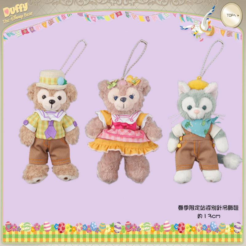 【真愛日本】15041700075 春季限定-站姿娃別針傑力東尼 傑拉東尼 畫家貓  迪士尼專賣店限定 雪莉玫 達菲熊 飾品 娃娃 玩偶 正品 限量