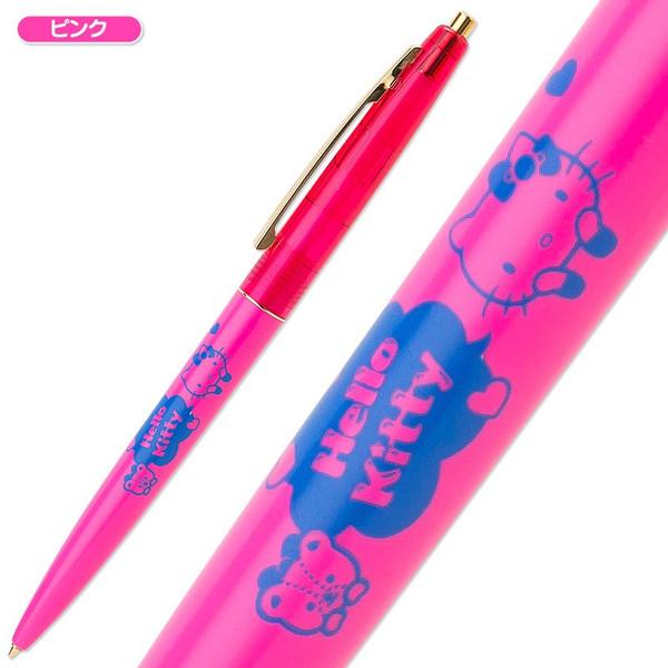 【真愛日本】15042100052 原子筆-夾扣金托腮桃 三麗鷗 Hello Kitty 凱蒂貓 文具 書寫用具 正品 限量 玉更