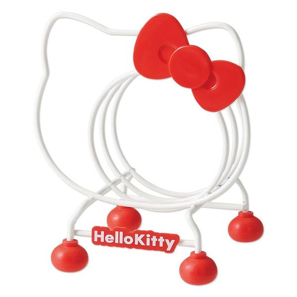 【真愛日本】15042800075 砧板架-大臉紅結 三麗鷗 Hello Kitty 凱蒂貓 廚房用具 居家  正品 限量