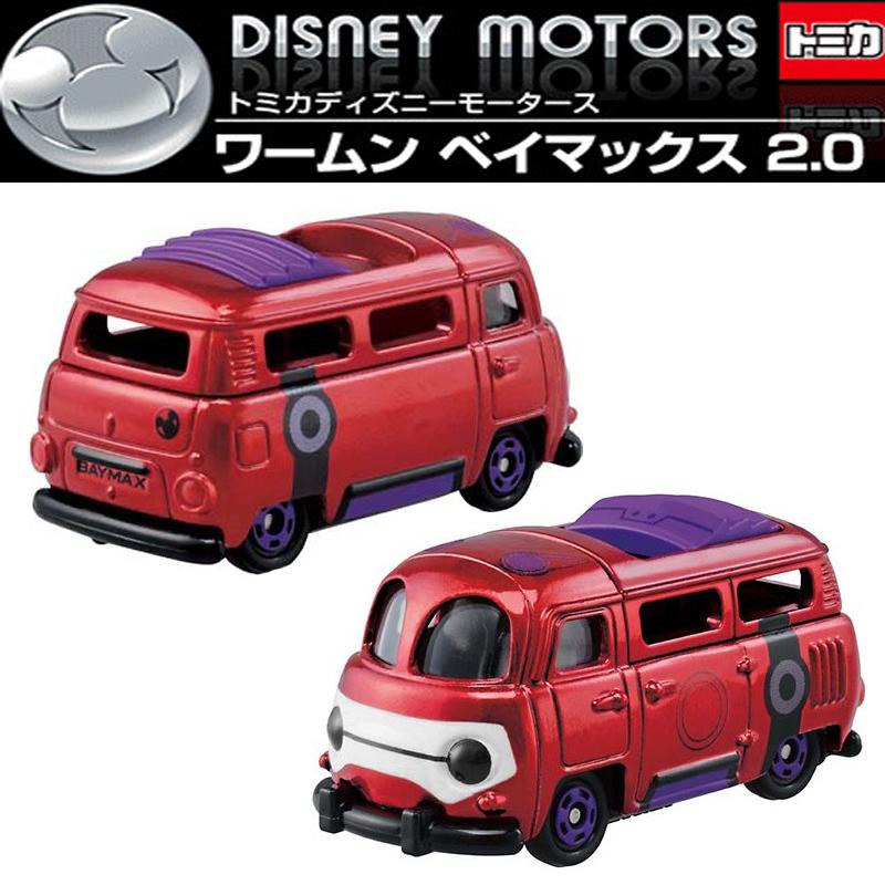 【真愛日本】15050700014 TOMY車-大英雄旅行車紅 迪士尼 大英雄天團 Big Hero 6 杯麵 玩具 小車 正品 限量 預購