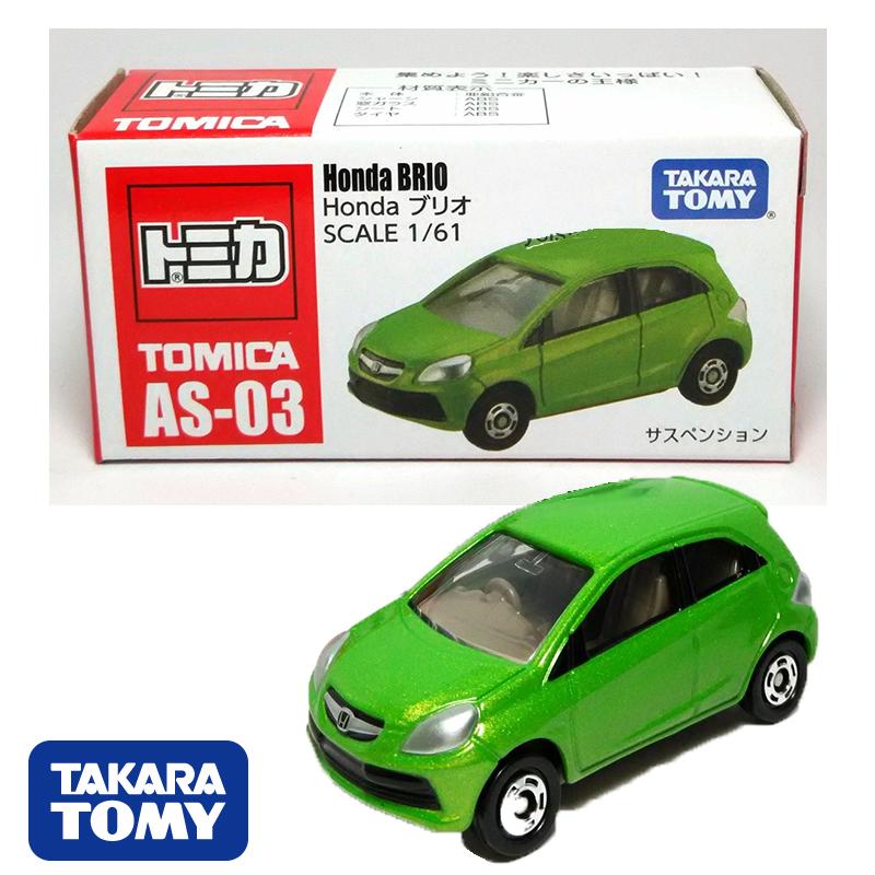 【真愛日本】15050900001 TOMY車-本田BRIO TAKARA TOMY多美小汽車 玩具 小車 正品 限量
