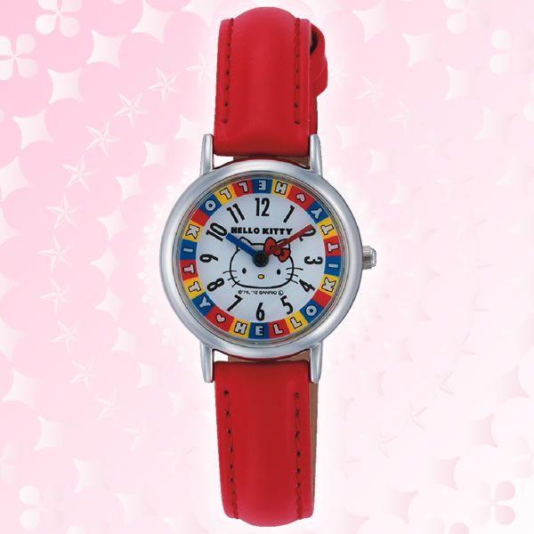 【真愛日本】15051700076 手錶-圓形簍空彩色轉盤 三麗鷗 Hello Kitty 凱蒂貓  飾品 手飾 正品 限量 預購