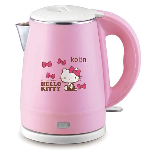 【真愛日本】15052200045 雙層隔熱不銹鋼快煮壺 三麗鷗 Hello Kitty 凱蒂貓 餐具 水壺 正品 限量 預購