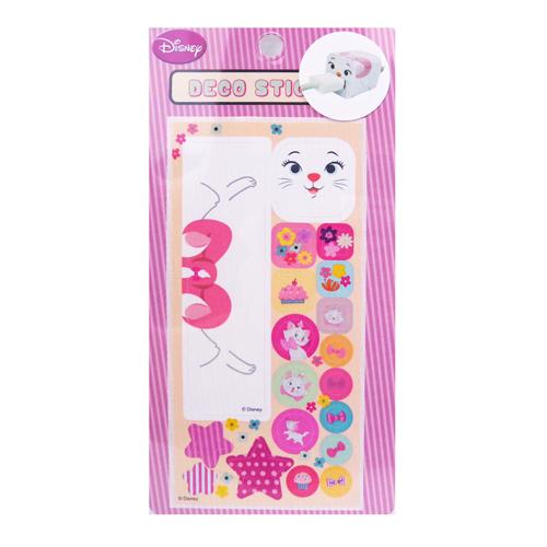 【真愛日本】15060400006  裝飾貼紙-瑪麗貓 迪士尼 瑪莉貓 Marie cat 手機周邊 正品 限量 預購