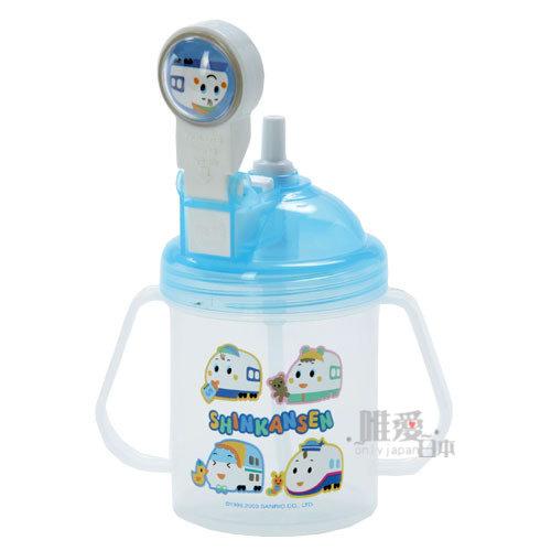 <KT生活館>12030100001 自動彈跳練習杯 三麗鷗 ShinKanSen 新幹線 兒童水杯水壺台灣製