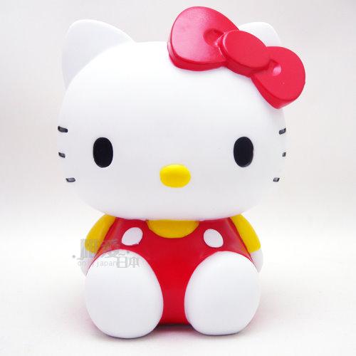【真愛日本】13110500014 存錢筒-紅衣坐姿 三麗鷗 Hello Kitty 凱蒂貓 撲滿 儲蓄筒