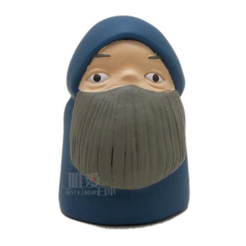 【真愛日本】13112300008 指套娃娃-馬盧克鬍子   霍兒的移動城堡 手指娃娃 公仔 模型 正品