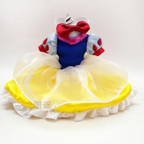 【唯愛日本】15020100055 樂園限定公主禮服-白雪公主 迪士尼專賣店限定 公主系列 鑰匙圈 鎖圈