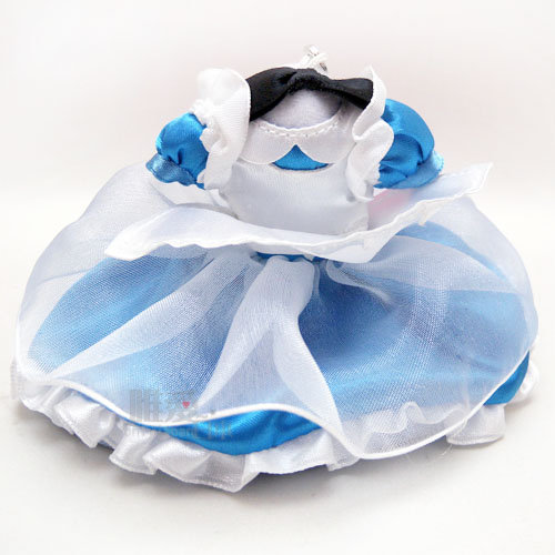 【唯愛日本】15020100056 樂園限定公主禮服-愛麗絲 迪士尼專賣店限定 公主系列 鑰匙圈 鎖圈