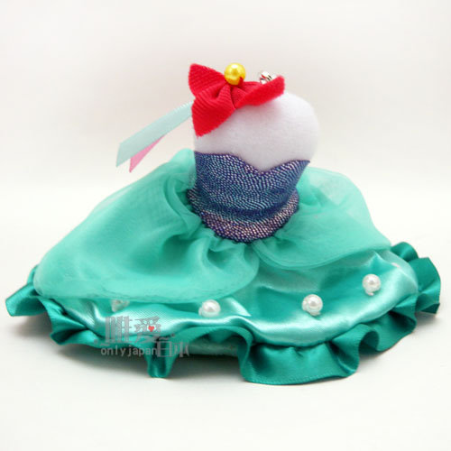 【唯愛日本】13121400019 禮服吊飾-美人魚 迪士尼專賣店限定 公主系列 鑰匙圈 鎖圈