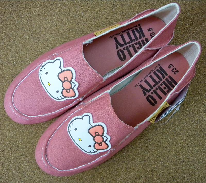 【真愛日本】休閒鞋915037-粉23-25 三麗鷗 Hello Kitty 凱蒂貓 外出鞋 流行鞋 正品 限量 預購
