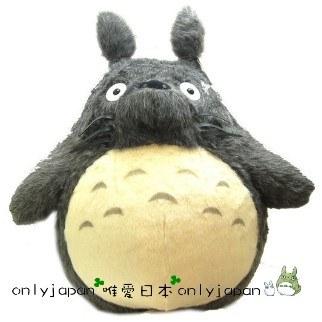 <宮崎駿會館>9012400001龍貓TOTORO灰色超大龍貓娃娃玩偶布偶