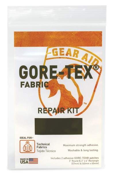 McNETT Gear Aid 美國製 Gore-tex 原廠補釘/修補片/風雨衣修補片/GTX補丁 黑 15310