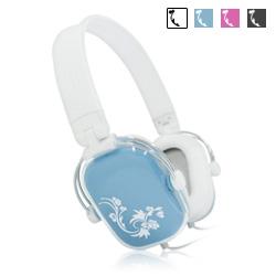 【迪特軍3C】彩繪方塊 耳機麥克風(YL-MV4) 粉/藍/黑/白 音質優異 可折疊攜帶 有音量控制