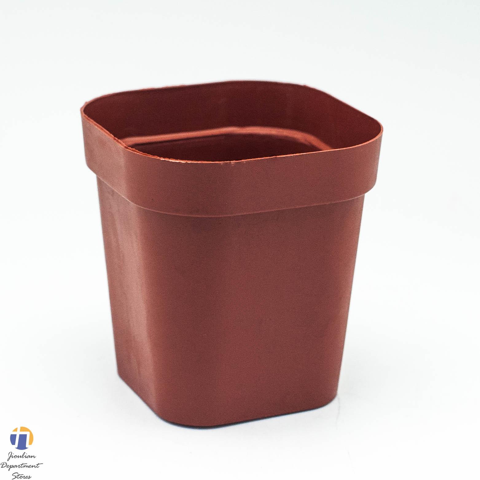 {九聯百貨} 小紅盆 正方 3.5吋 花盆