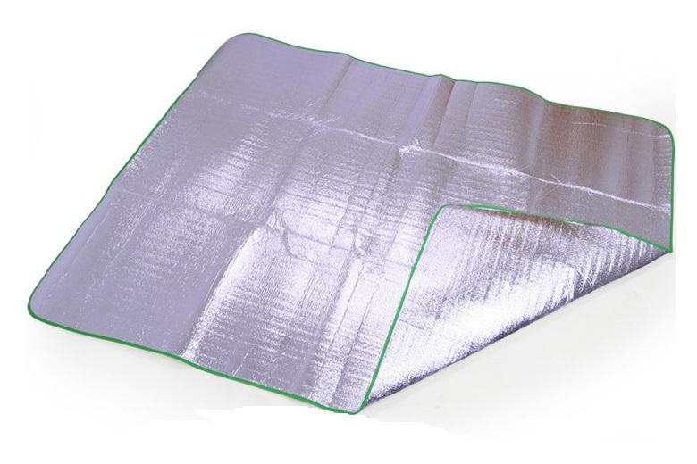 【露營趣】中和 TNR-137 200x200 四人帳篷用 雙面鋁箔墊 鋁箔墊 防潮墊 露營墊 野餐墊 地墊 睡墊