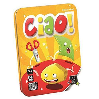 【 法國桌神 Gigamic 益智遊戲 】Ciao! 剪刀石頭布