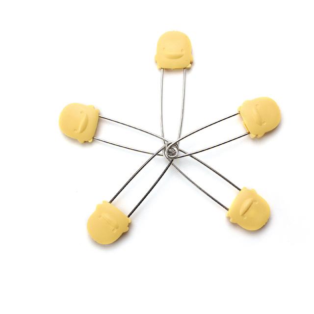 『121婦嬰用品館』黃色小鴨 安全造型別針