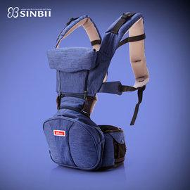 *babygo*韓國SINBII EZBAG 2.0旗艦款 坐墊式嬰兒背帶/背巾--加贈EZbag有 機棉口水巾