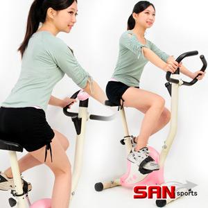 【SAN SPORTS 山司伯特】YoungStar 超寶健身車(室內腳踏車.美腿機.運動健身器材.推薦) C149-030