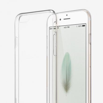 Apple蘋果 iPhone 6/6s (4.7吋) 超薄TPU透明軟式手機殼/保護套