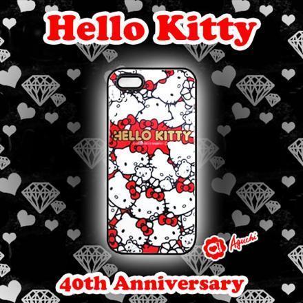 ☆Hello Kitty☆凱蒂貓&熊熊手機殼40週年iPhone5/5S/SE