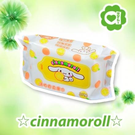 ☆ Cinnamoroll ☆ 三麗鷗家族大耳狗清柚香氛柔濕巾30抽 【亞古奇 Aguchi】